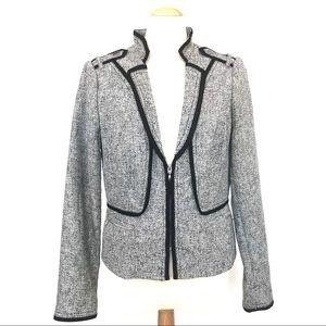 NWOT WHBM tweed blazer 8
